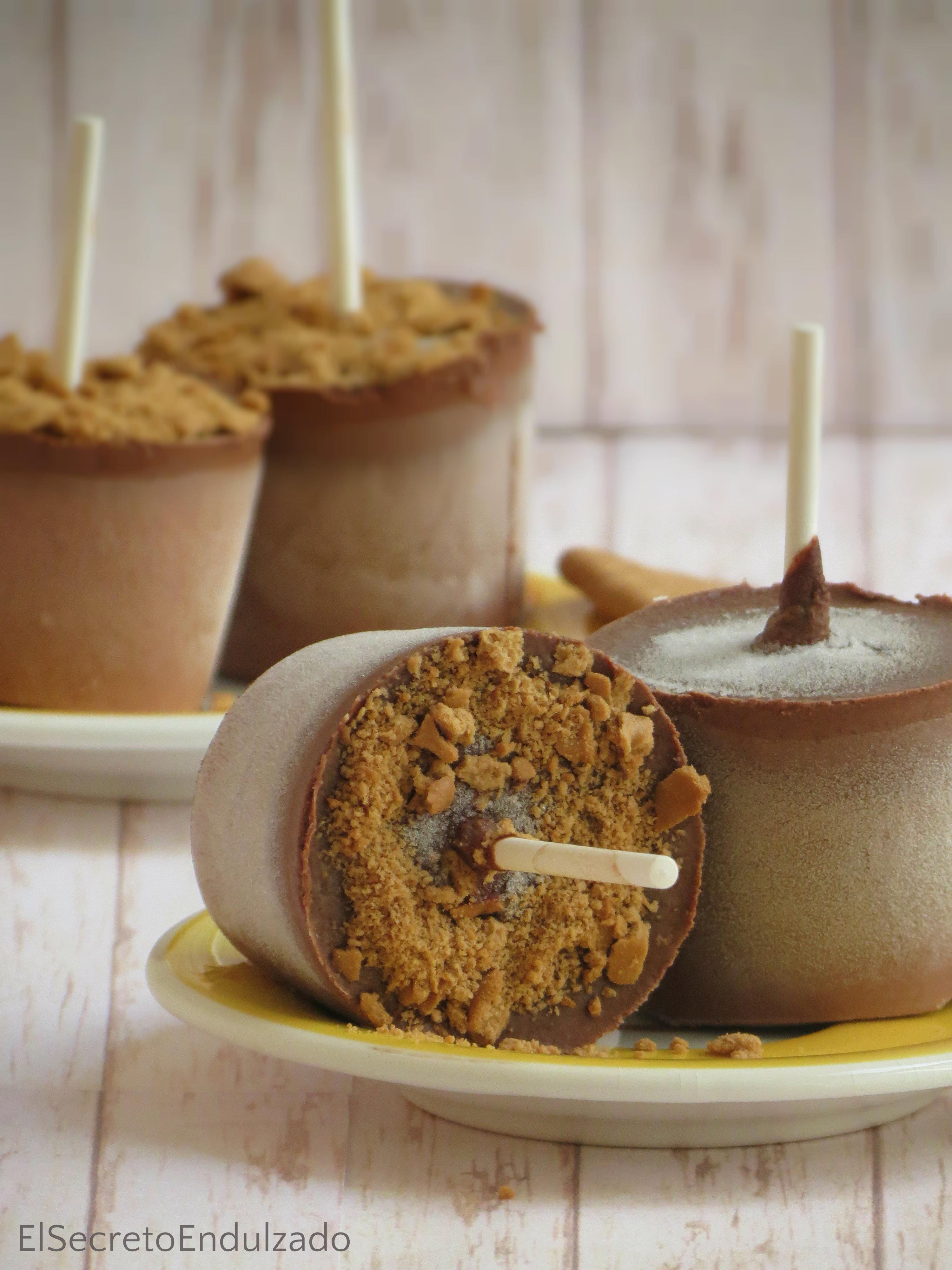 Polos de Chocolate receta recipe