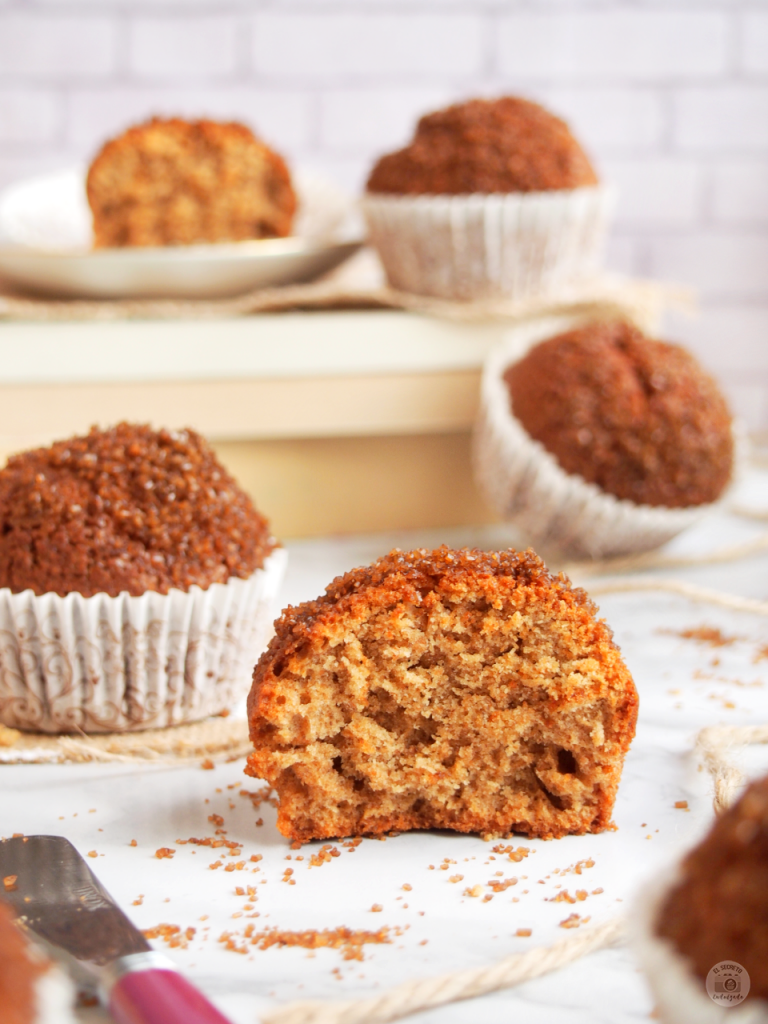 receta magdalenas integrales_muffins healthy recipe