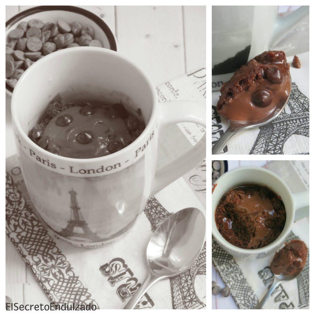 Mug Cake Nocilla