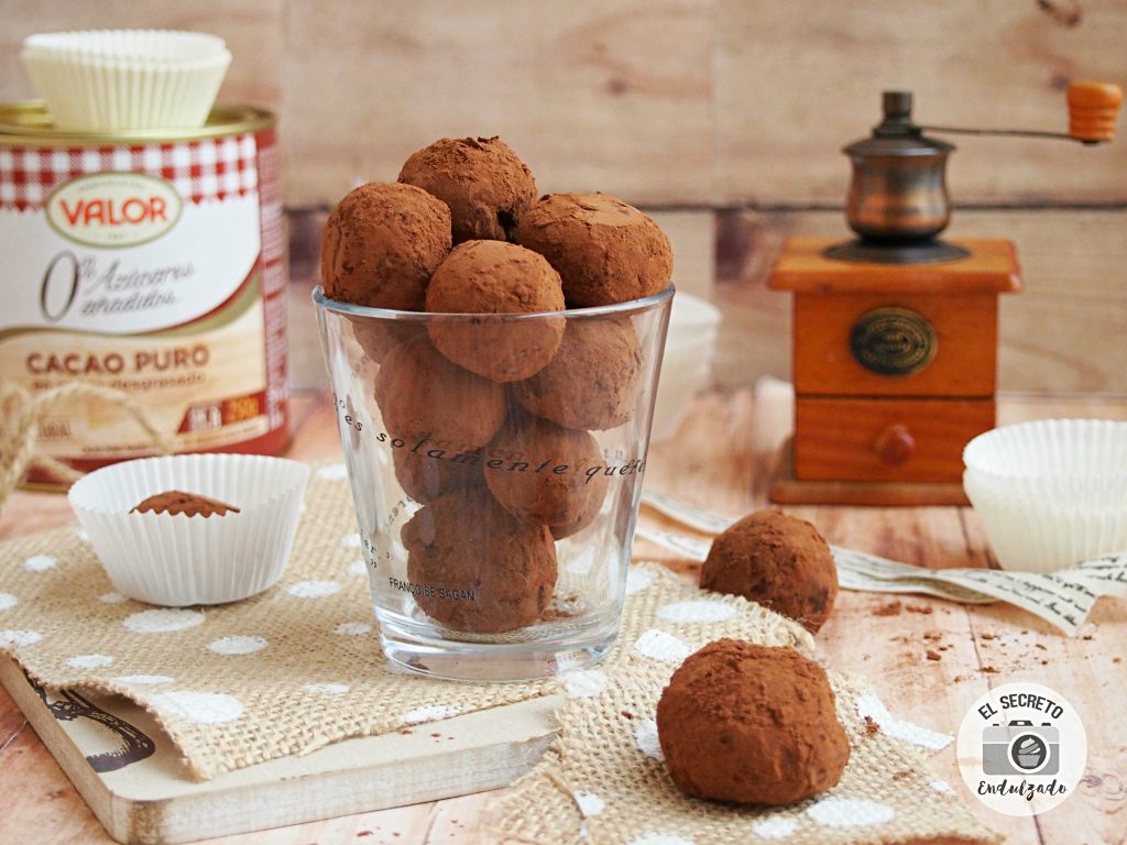 Trufas de chocolate blanco | White Chocolate Truffles