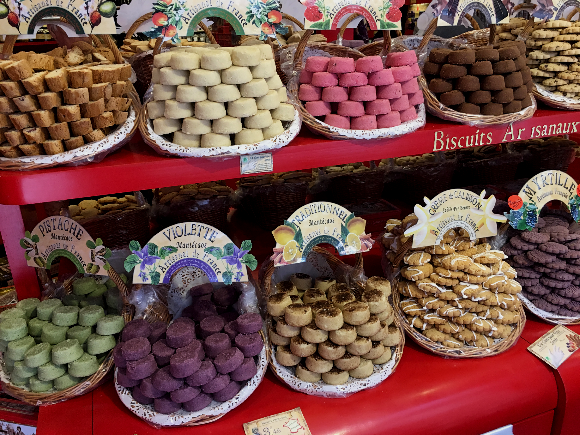 Mantecaos Peches Gourmand Toulouse France