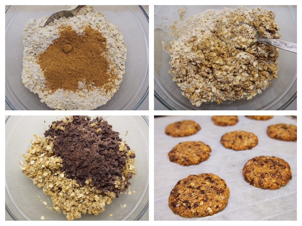 Cookies avena chocolate oatmeal recipe