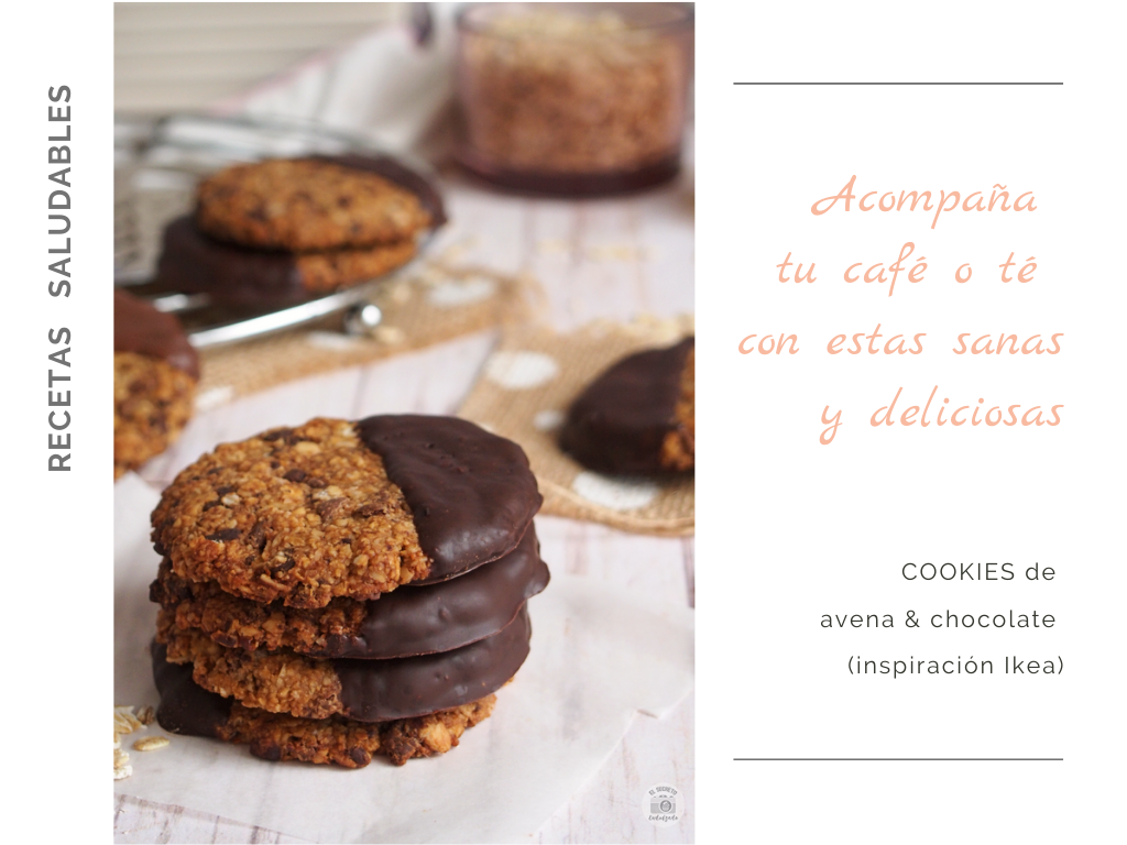 Cookies avena & chocolate oatmeal recipe