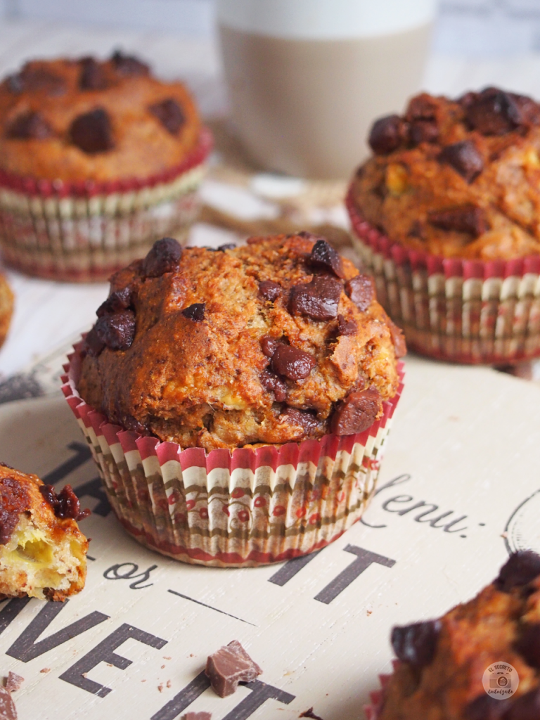 Muffins healthy saludables