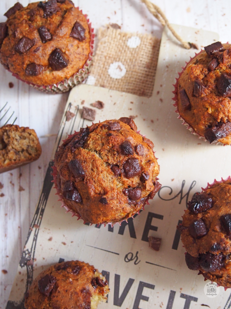 Muffins healthy saludables recipe receta