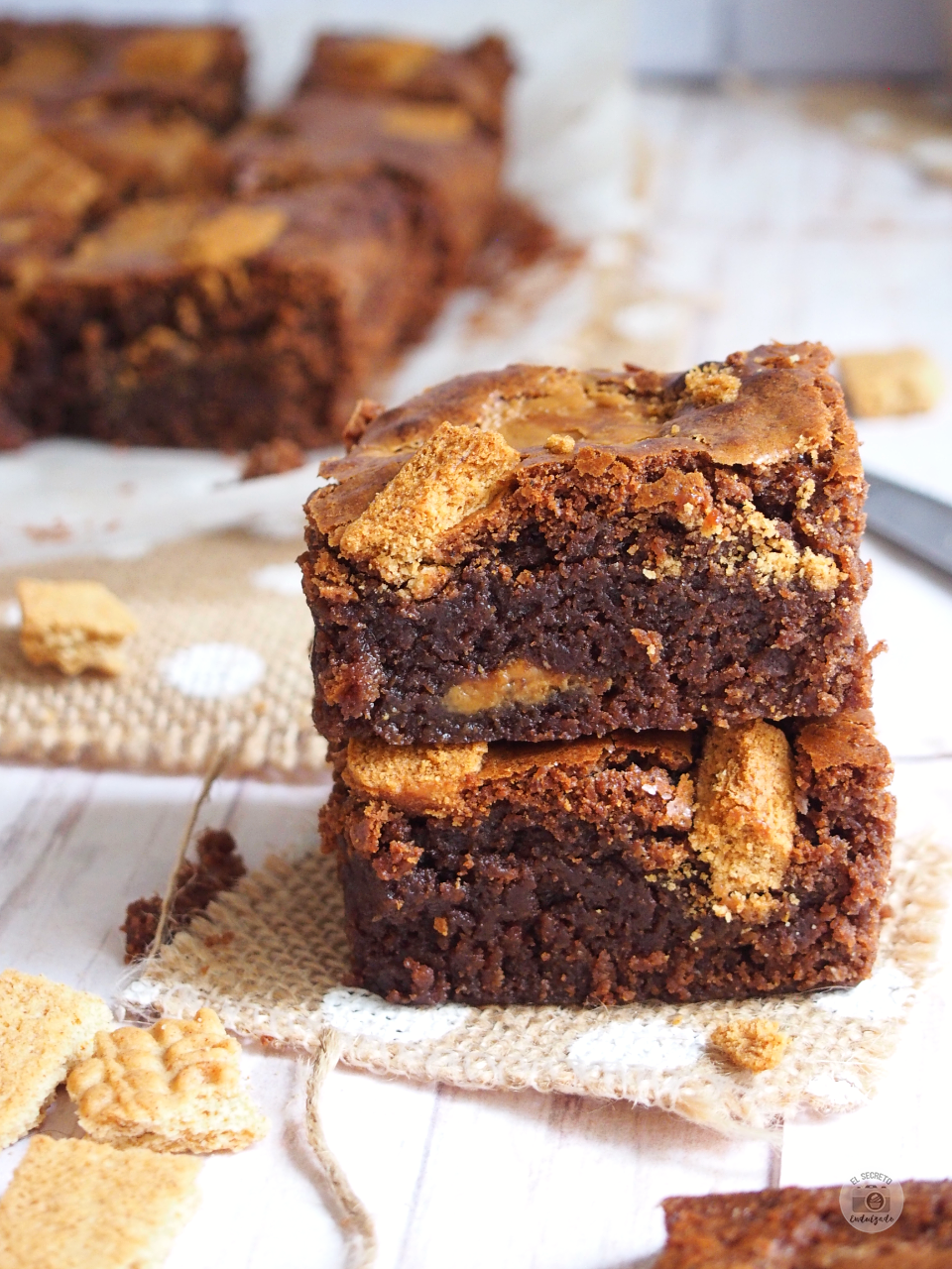 BROWNIE Chocolate & Speculoos_Biscoof Brownie recipe