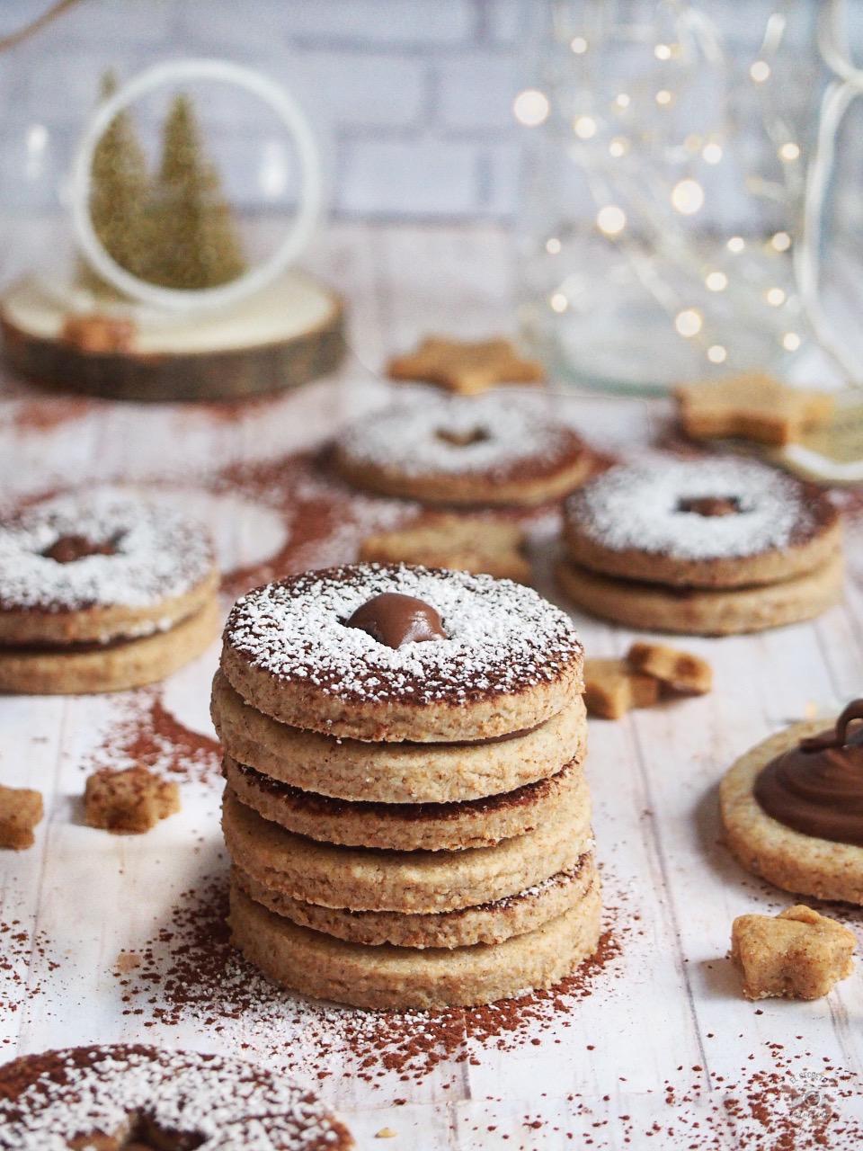 Recipe cookies spitzbuben christmas receta galletas suizas navidad