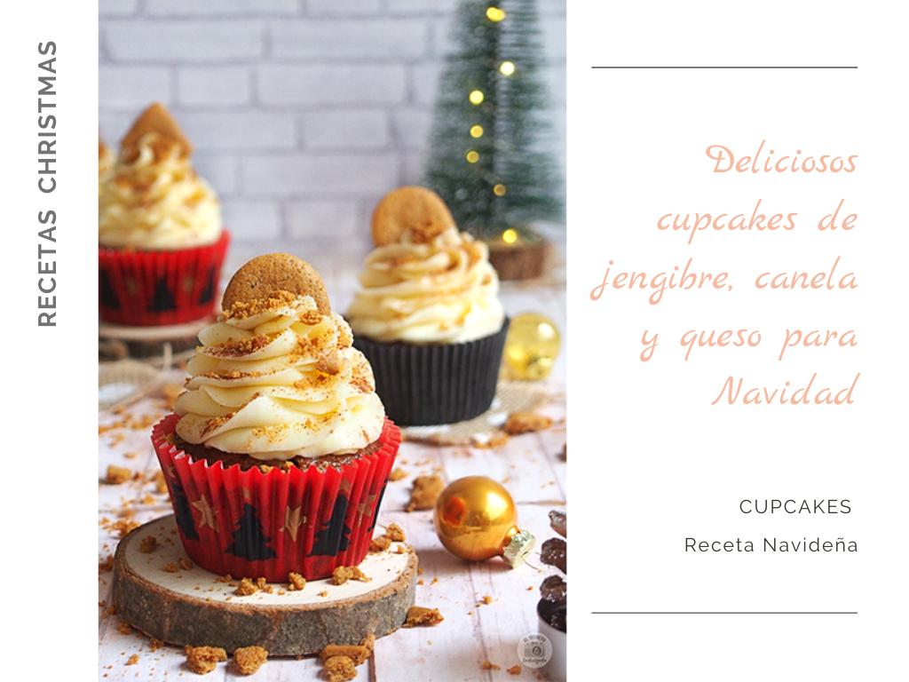 Cupcakes Jengibre y canela