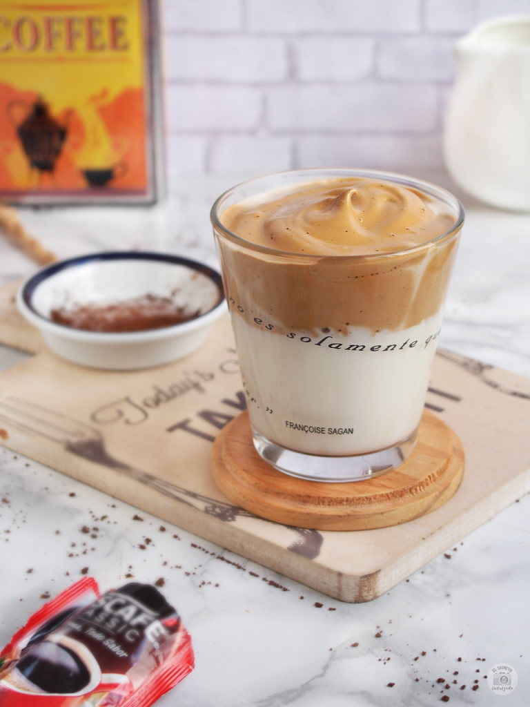 Receta café dalgona_dalgona coffe recipe