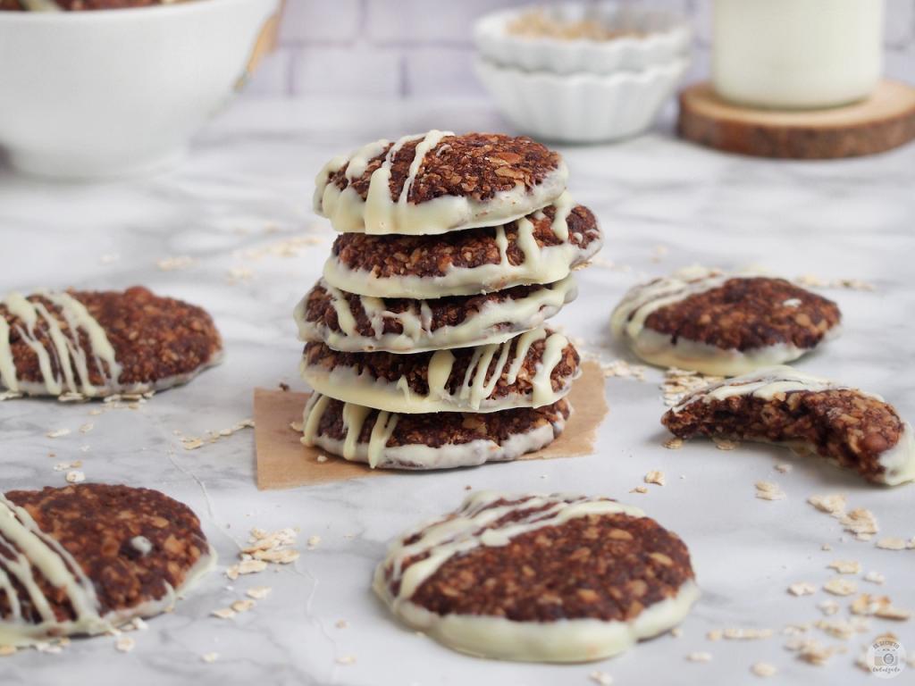 Receta Cookies Choco & Avena recipe