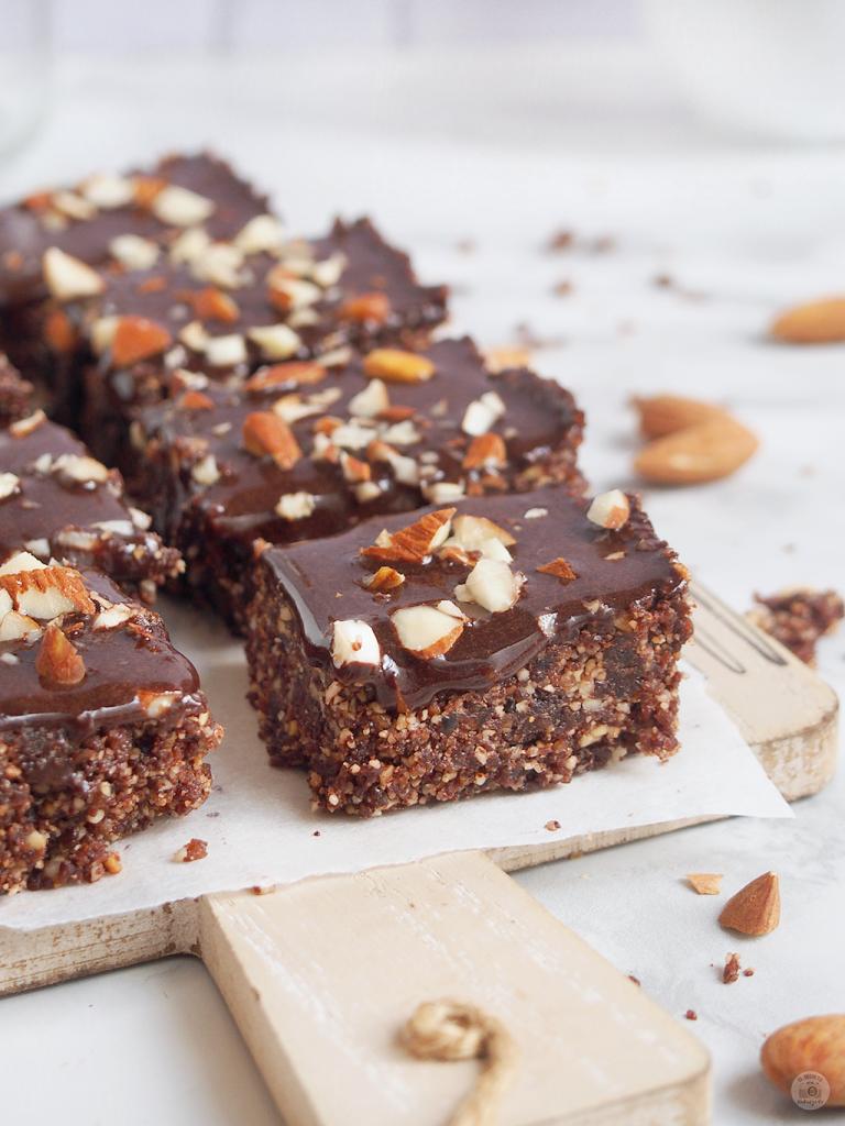 Brownie Healthy NO Bake - Brownie Saludable Sin horno