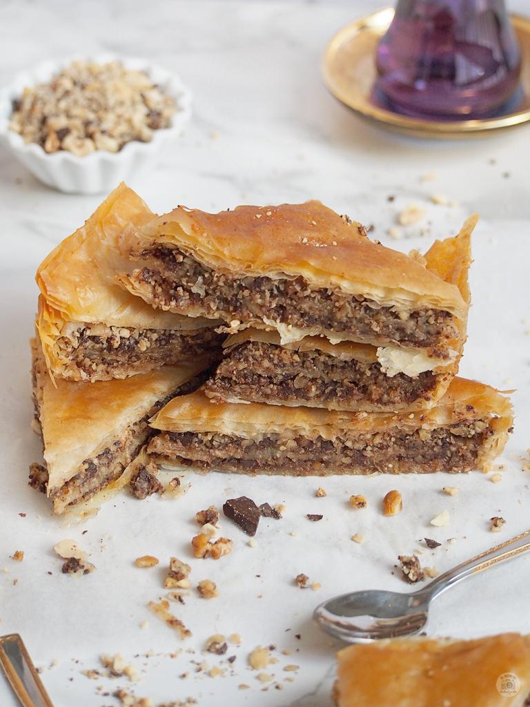 Receta Baklava de Chocolate - Baklava chocolate recipe