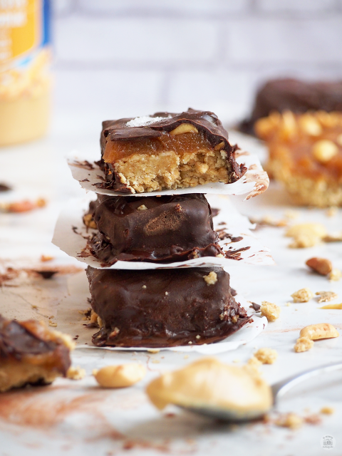Snickers Healthy Bars Barritas saludables Caramelo Chocolate